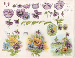 59 best china painting pansies images on pinterest pansies
