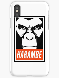 Meme Phone - harambe obey meme gorilla shirt phone case stickers iphone