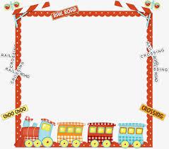 Decorative Frame Png Childlike Decorative Frame 5 Decoration Child Frame Png Image