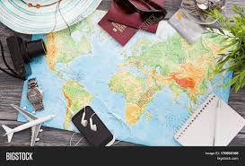 map travel travel planning map tourism image photo bigstock