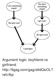 Mad Girlfriend Meme - i do something stupid she gets mad i apologise she does something