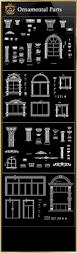 ornamental parts of buildings 8 free cad blocks u0026 drawings