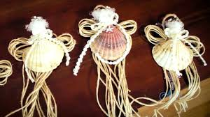 arts and crafts tutorial how to make seashell fairy christmas fine