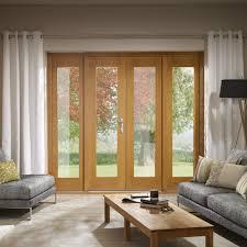 Oak Patio Doors Patio Doors With Sidelights Oak Patio Doorset With