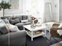 Wohnzimmer Weis Ikea Ein Wohnzimmer Mit Ektorp Ecksofa 2 2 Mit Bezug U201esvanby U201c In Grau