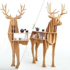 deer home decor wooden deer home decor coffee table king ii self built puzzle