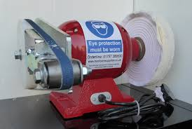 bench grinder with sanding band attachments a u0026s hoofcare supplies