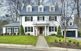 Colonial House Style Tudor Federal Bungalows Taking Stock Of Dc U0027s Architectural Styles