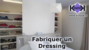 faire un dressing dans une chambre fabriquer un dressing