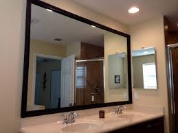 beautiful adding frames to bathroom mirrors 20 in with adding
