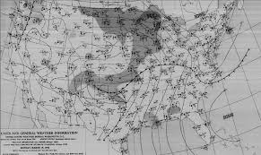 Weather Map For United States by The Lacon F5 Tornado Of March 16 1942