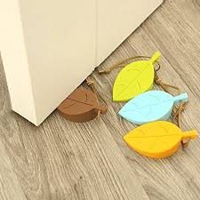 Pictures Of Door Stops by Awesome Silicone Unique Door Stops Cute Colorful Leaf Shape Door
