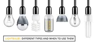 common light bulb types light bulbs different types and when to use them wire craft