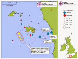 Saint Malo France Map by Sciency Thoughts Magnitude 1 9 Earthquake Southwest Of Jersey In