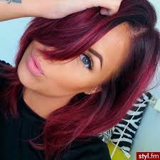 how to achieve dark roots hair style red bob hair with dark roots do you love lynsey does my
