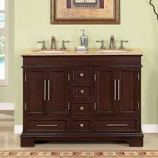 modern double sink bathroom vanity double mirror panels mirror