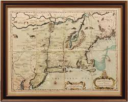 Map Of New England by Map Of New England And New York 1626