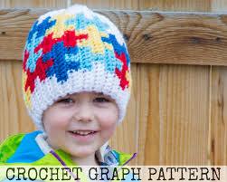 crochet graph autism awareness puzzle color grid for crochet