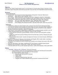 quality assurance resume exles time management for paper writing think st edward s