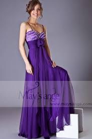robe violette mariage robe de soirée violette