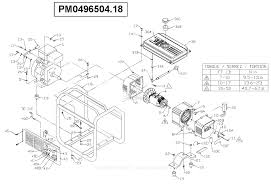 wiring diagram for coleman powermate generator wiring free
