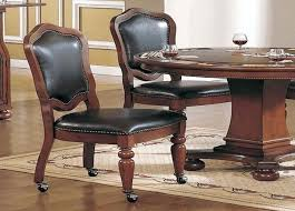 rolling dining chairs full size of dining room tabledining table