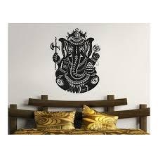elephant menorah buddha elephant wall decals indian stickers elphntwd49