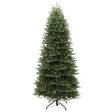 puleo 7 5ft washington valley spruce slim artificial tree