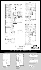floor plans the classic collection of 50 ft lot homes
