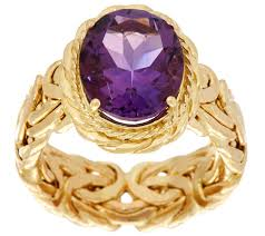 gemstone rings images 14k gold polished byzantine and gemstone ring page 1 001