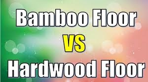 The Main Difference Between Hardwood And Laminate Flooring Is Hardwood Floor Vs Bamboo Floor Difference Between Hardwood Floor