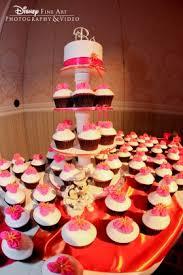 wedding cake wednesday red velvet cupcakes disney weddings