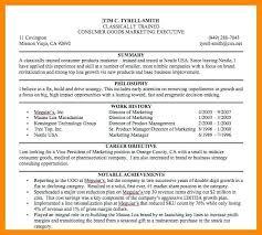 resume summary statement exles management goals resume exles of resume summary statement exle sle goals