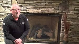 gas fireplace odor