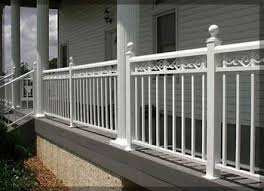 star railings colonial series aluminum porch and deck rail systems