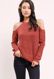 open shoulder sweater open shoulder sweater shop sleeve at papaya clothing