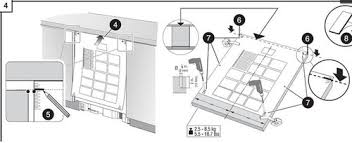 Dishwasher Size Opening Can U0027t Figure Out Bosch Cutom Panel Dishwasher Template