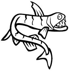 viperfish monster fish coloring pages color luna
