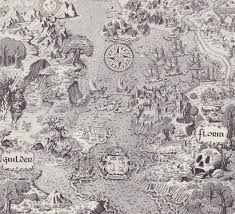 A Map Of The World Book by Scanned From An Old Book Of Fantasy Maps A Map Of The World Of
