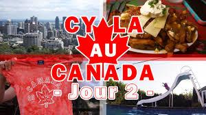 ecole de cuisine au canada daily vlogs cyla au canada jour 2 découverte de montréal