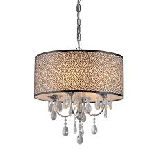 crystal l shade chandelier whse of tiffany rl13224 lush crystal chandelier drum shades clip on