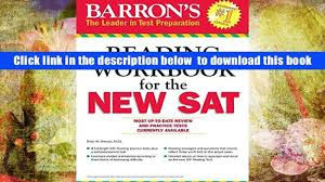 free download barron s reading workbook for the new sat