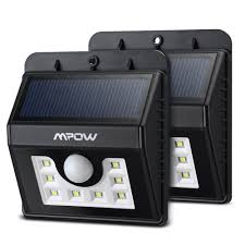Outdoor Motion Sensor Wall Light by Outdoor Solar Lighting Products Solarhousenumbers Org