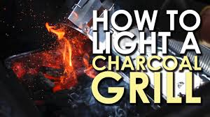 the art of grilling how to light a charcoal grill youtube