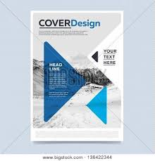 colorful brochure design template vector u0026 photo bigstock