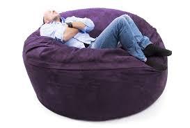 canapé pouf pouf géant canapé xxxl big52 titan violet intérieur à prix usine