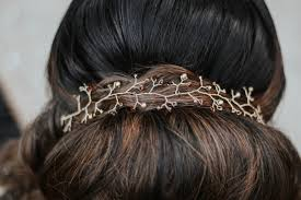 hair accessories for indian weddings indian bridal photo shoot