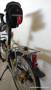 rear bike light rack mount hands on bike light motion vis 180 rear light