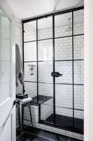 Barn Doors For Bathrooms by White Bathroom Barn Door View In Gallery Herringbone Pattern