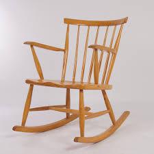 Childrens Rocking Chair Cushions Vintage Wood Rocking Chair Design Home U0026 Interior Design